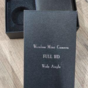 50€       Wireless camera HD Κάμερα με ήχο Μίνι μπορείς να δεις από το κινητό σου όπου και αν είσαι τι γίνεται στον χώρο σου με εικόνα και δυνατό ήχο παίρνει και κάρτα μνήμης προσφορά