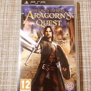 Κασέτα του PSP *ARAGORN'S QUEST* THE LORD OF THE RINGS.