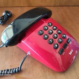 Σταθερο κοκκινο τηλεφωνο Telco