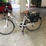Ηλεκτρικό γυναικείο ποδήλατο