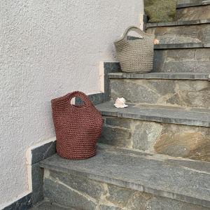Πλέκτη τσάντα
