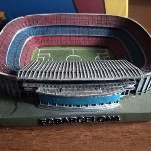 Τασάκι - διακοσμητικό με το γήπεδο της Barcelona