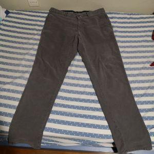 Aνδρικό γκρι παντελόνι Massimo Dutti