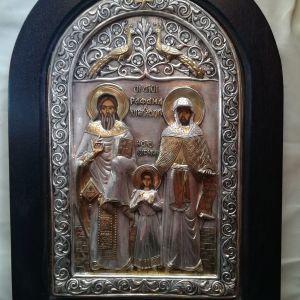 Εικόνα Αγ. Ραφαήλ,Αγ. Νικόλαο και Αγ. Ειρήνη