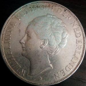 Nederlanden 2 1/2G 1930 Μεγαλο Ασημενιο
