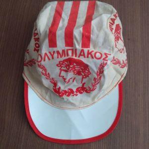 Συλλεκτικό Εποχής 1985 Καπέλο Ολυμπιακού