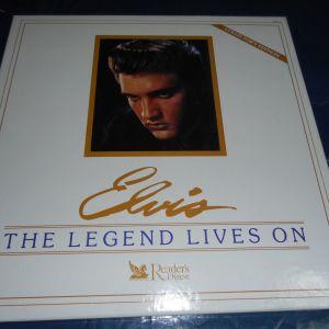 ELVIS PRESLEY - THE LEGEND LIVES ON   8 LP BOX SET