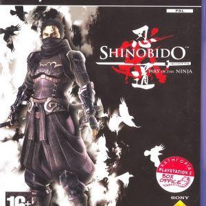 SHINOBIDO WAY OF THE NINJA - PS2