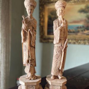 2 Vintage Αγαλματίδια