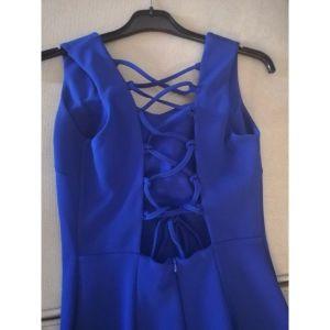 Φόρεμα μπλε εξωπλατο