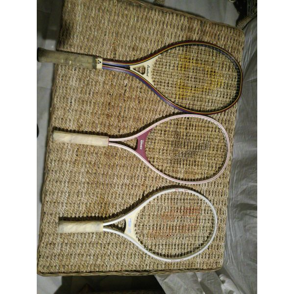 3 raketes tenis - Prince / Active / Kennex