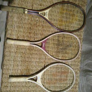 3 Ρακέτες Τένις - Prince / Active / Kennex