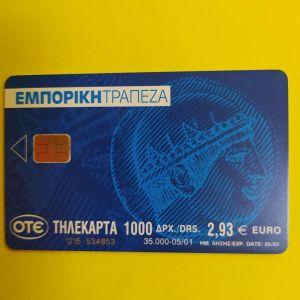 ΕΜΠΟΡΙΚΗ ΤΡΑΠΕΖ ΜΠΛΕ 05/2001