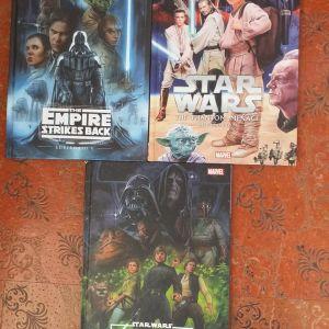 Star Wars & τα 3 μαζι & ημερολ & 6 αφισες MARVEL