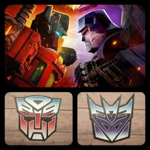 """""""Transformers"""" Cybertron Magnets"""