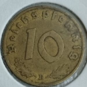 ΝΟΜΙΣΜΑ 1938 Β ΓΕΡΜΑΝΙΑΣ