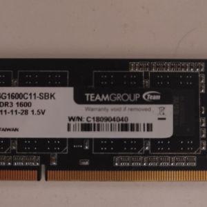 Μνήμη ram 4gb DDR3 1600MHz