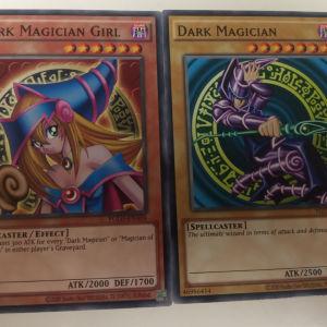 Dark Magician & Dark Magician Girl (Original Art)