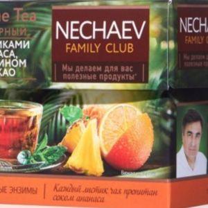Μαυρο τσαι με φυλλα Enzyme Tea με ανανα πορτοκαλι κακαο