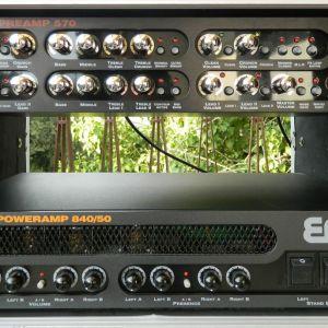 Ενίσχυσης κιθάρας ENGL SPECIAL EDITION PREAMP E570, TUBE POWERAMP E840/50, Rack case & ηχείο Framus 1x12.