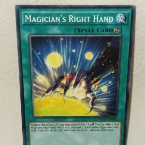 Magician's Right Hand Yu-Gi-Oh