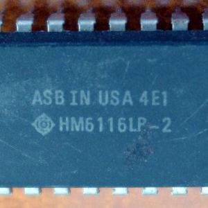 ΟΛΟΚΛΗΡΩΜΕΝΟ HITACHI HM6116LP-2 CMOS SRAM
