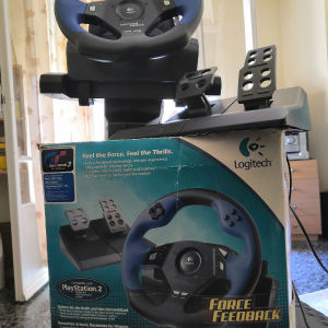 Logitech Driving Force Wheel for Ps2
