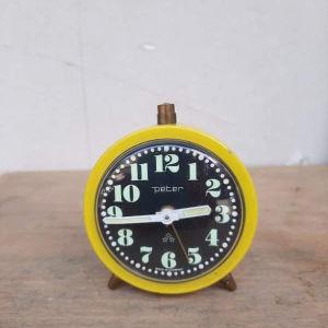 Vintage κουρδιστό ρολόι PETER, Γερμανίας, λειτουργικό (Α509)