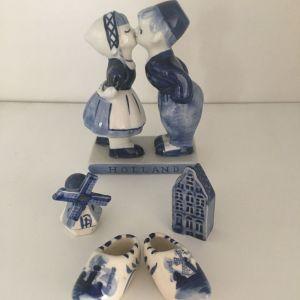 Ολλανδικά Πορσελάνινα Διακοσμητικά Delft (τιμή 10€ για όλα μαζί)