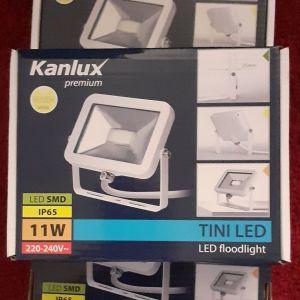 3 Προβολείς LED 11Watt λευκοί