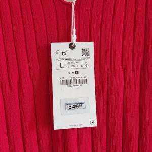 καινούριο μάξι γυναικείο φόρεμα σε υπέροχο χρώμα κόκκινο nr.L