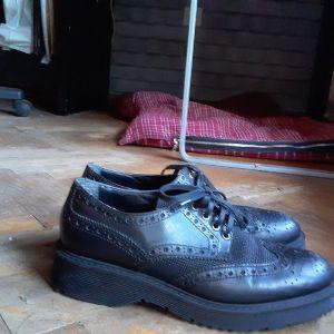 Δερματινα παπουτσια Νο 38 τυπου oxford