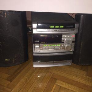 CD player philips και 2 ηχεία αρίστης κατάστασης ελάχιστα χρησιμοποιημένα τα ηχεία είχαν 360€ το CD player είχε 180€ τότε που παρθηκαν δίνονται λόγω έλλειψης χώρου