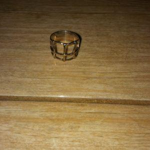 Χειροποιητο ασημενιο δαχτυλιδι