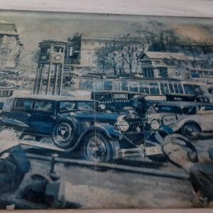 κάδρο πίνακας εποχής 1940 50