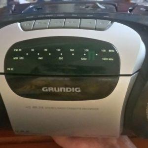 Grundig RR316 φορητό ραδιοκασετωφονο σε άριστη λειτουργική κατάσταση