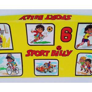 '' Sport Billy '' Σπάνιο Επιτραπέζιο ΡΑΙΚΟ 1980