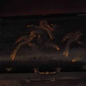 Ξύλινες βαλίτσες διακοσμητικες