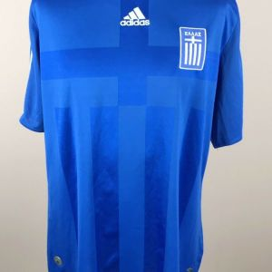 Φανέλα - Εμφάνιση Adidas Εθνικής Ελλάδος Ποδοσφαίρου μέγεθος XL Συλλεκτική