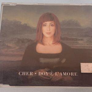 Cher - Dove l'amore 3-trk cd single