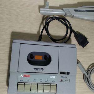 Atari Data Corder  XC-12 και Light Gun  XG-1