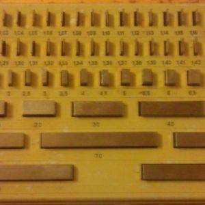 Πλακίδια διακρίβωσης - σετ