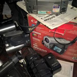 canon   mini dv mv200 κλπ καμερες