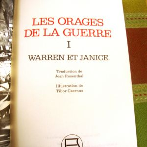 HERMAN WOUK.LES ORAGES. DE LA GUERRE