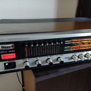 Grundig RTV 400. AM/FM Stereo Receiver (1969-72) Made in Germani.
