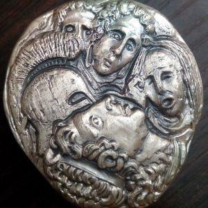 Ο Θανατος του Μ.Αλεξανδρου .999 SILVER