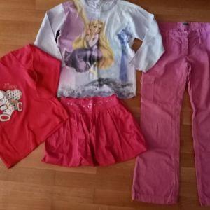 4 ρούχα για 10-12χρ