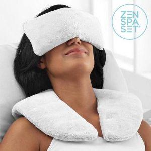 Σετ Zen Spa (Μαξιλάρι + Χαλαρωτικά Επιθέματα) Κρύο & Ζέστη