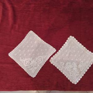 γωνιες -πετσετακια πλεκτα