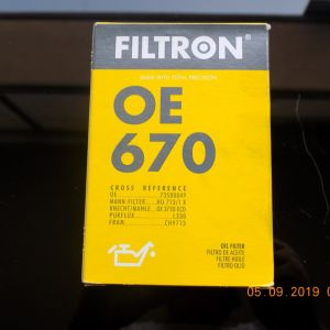 FILTRON OE 670 Φίλτρο Λαδιού